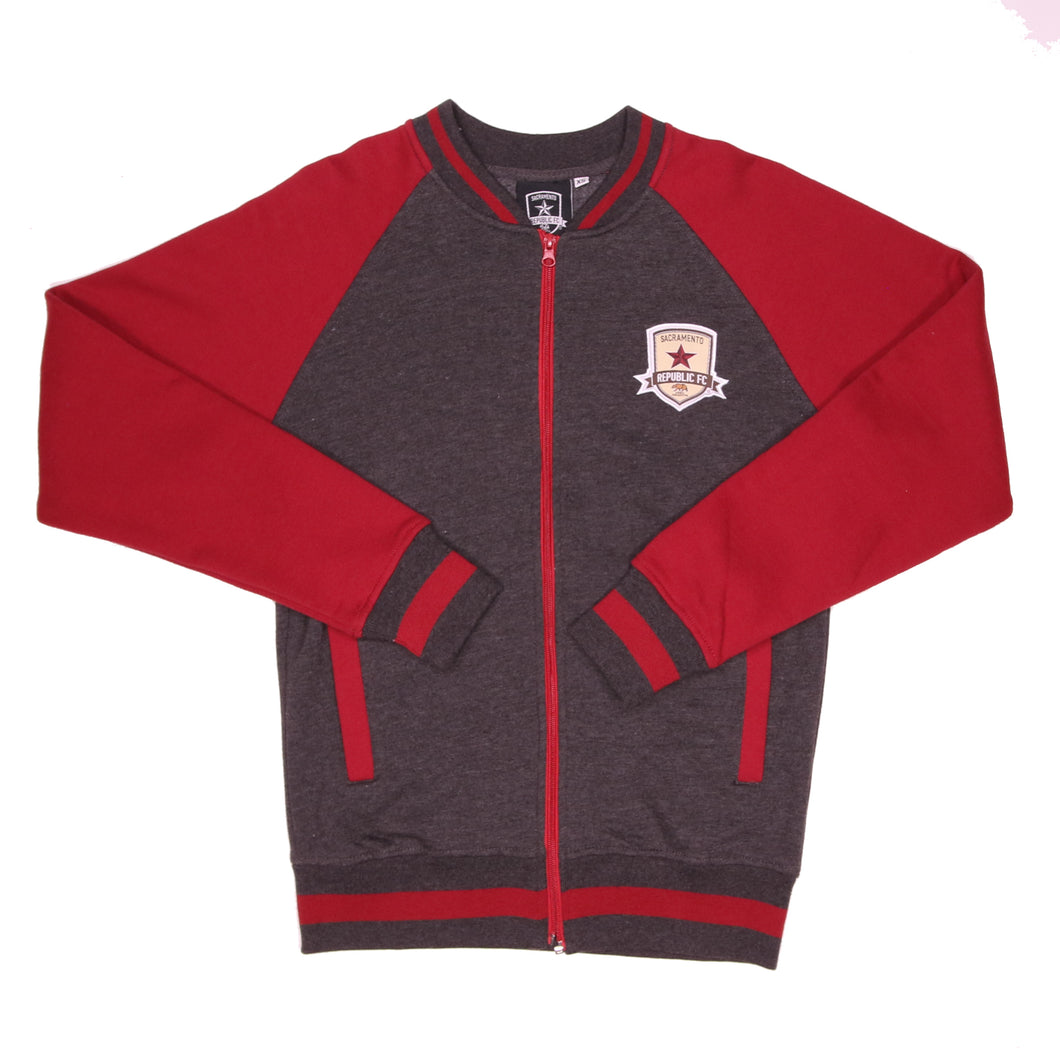 Adult Varsity Zip Jacket by SDS