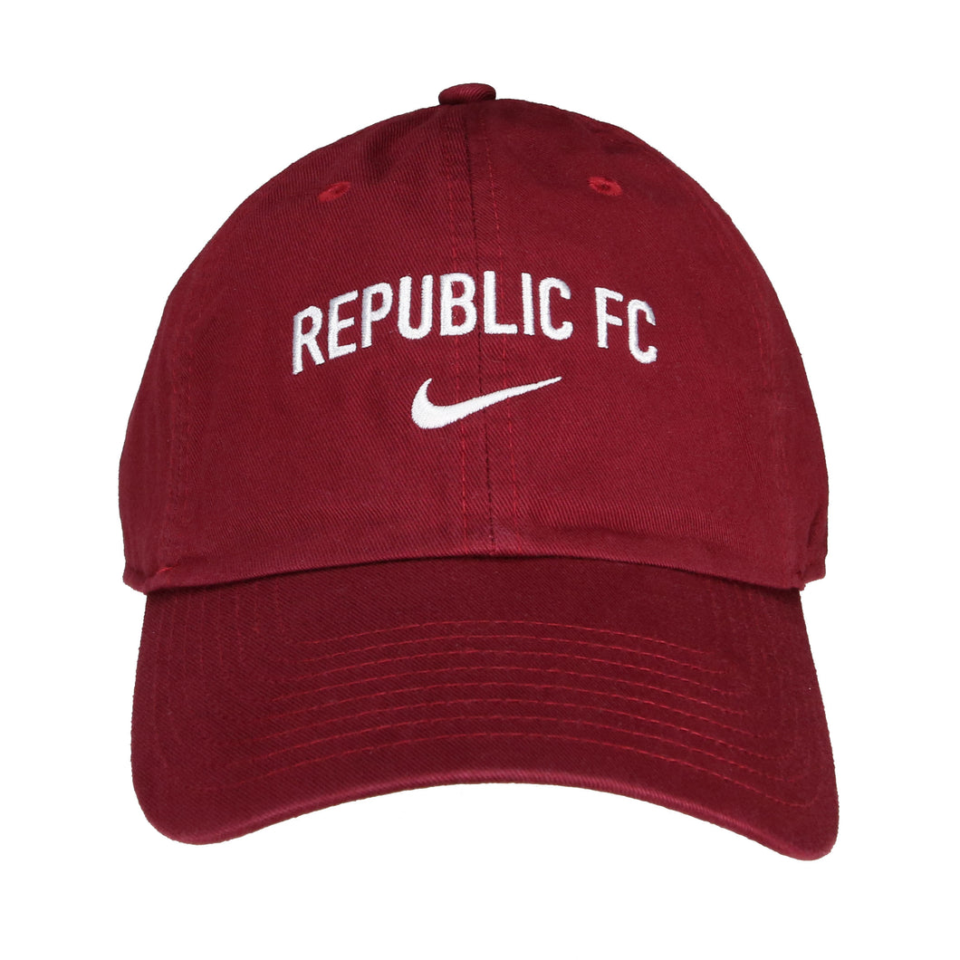 Campus Cap in Team Maroon by Nike