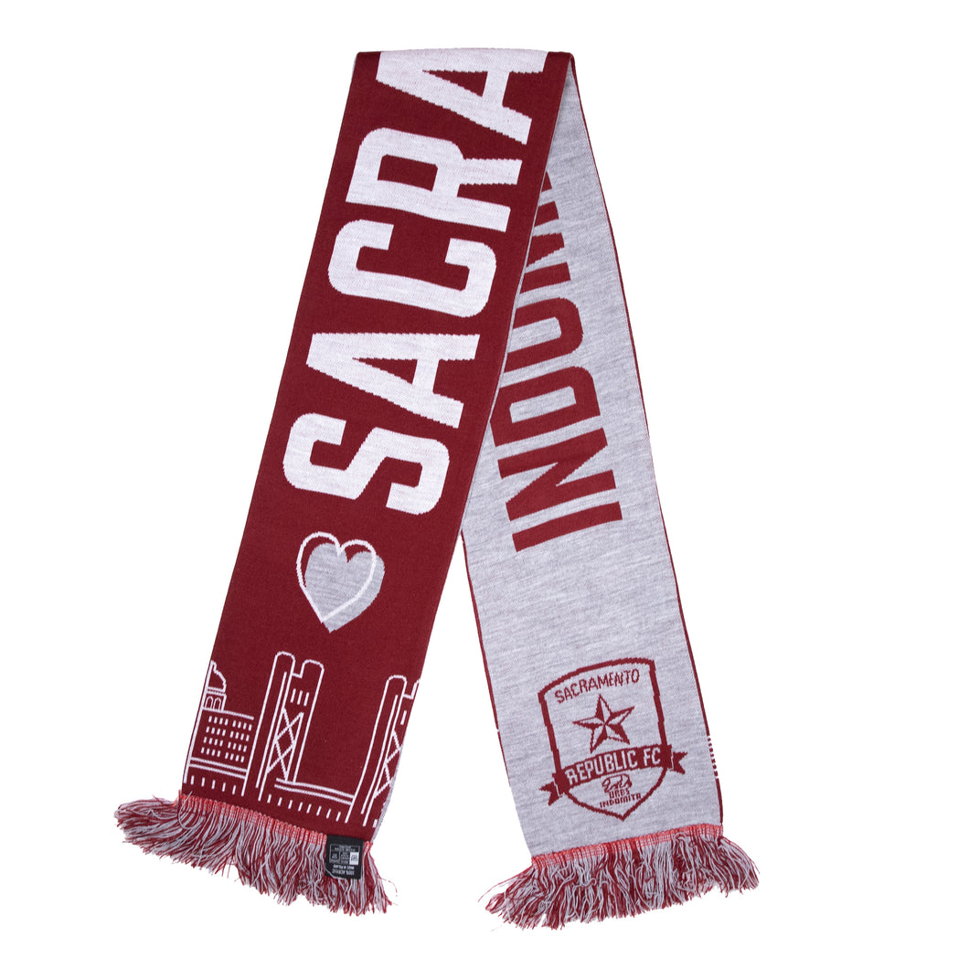 Indomitable City Scarf