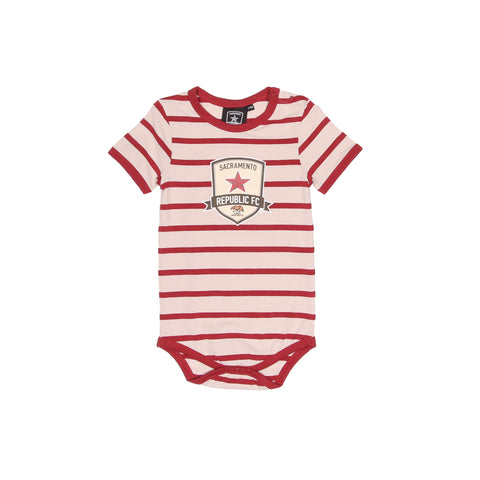 Infant Striped Crest Onesie by SDS