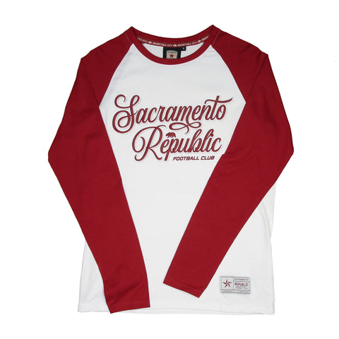 Men's Dual Print Raglan LS Tee by SDS