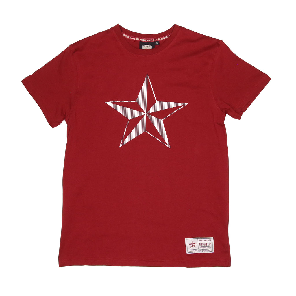 Men's High Density Star Tee by SDS