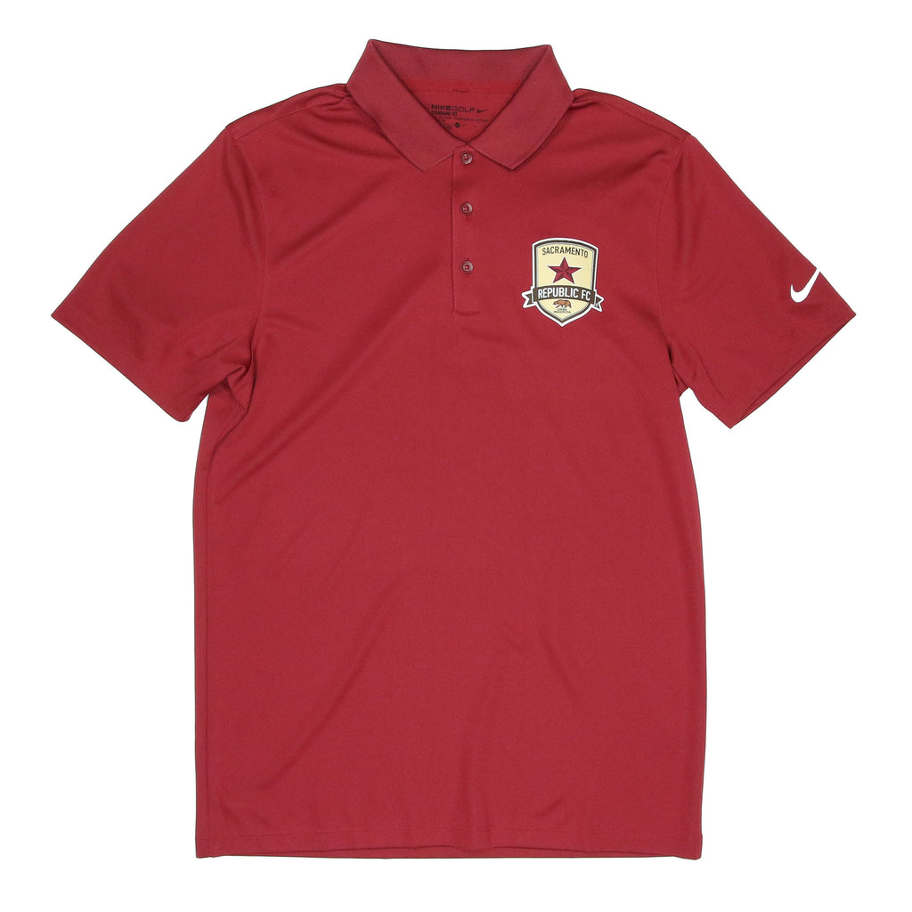 Men's Nike Victory Polo in Team Maroon