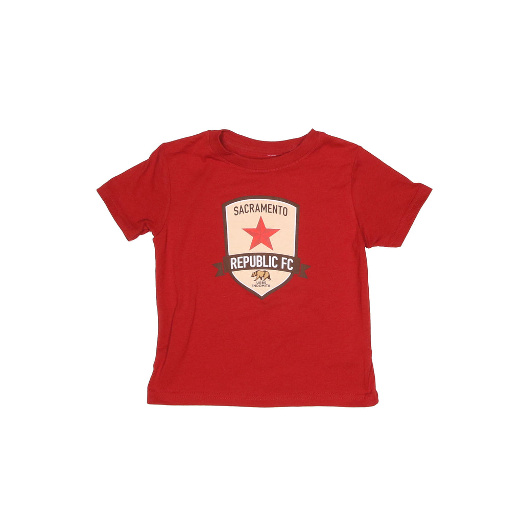 Original Crest Toddler Tee in Old Glory Red