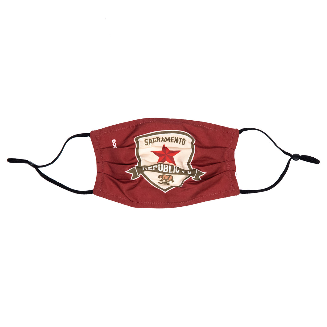Republic FC Adjustable Face Cover