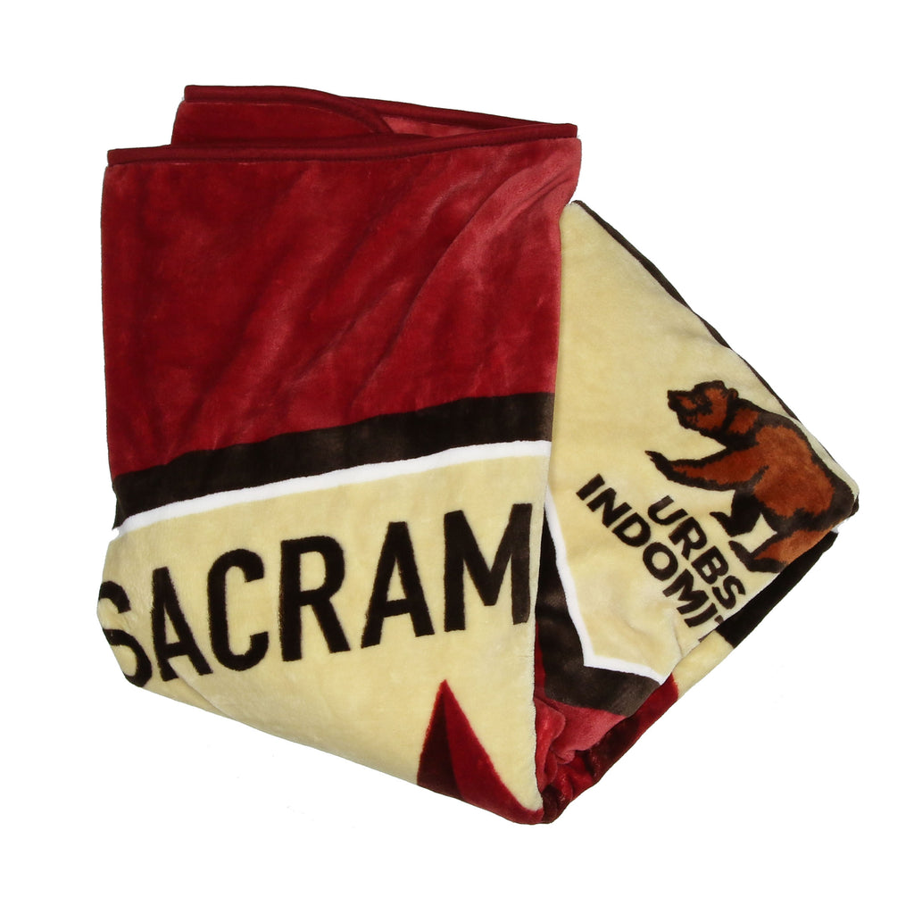 Republic FC Raschel Throw Blanket