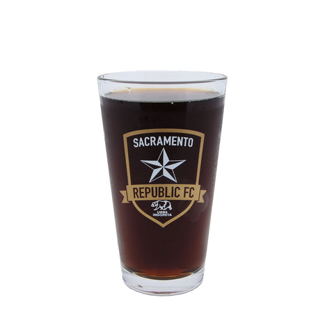 SRFC 16 oz. Pint Glass
