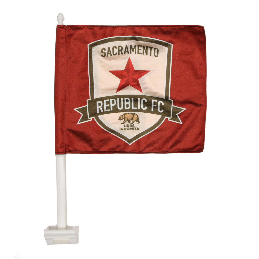 Republic FC Car Flag
