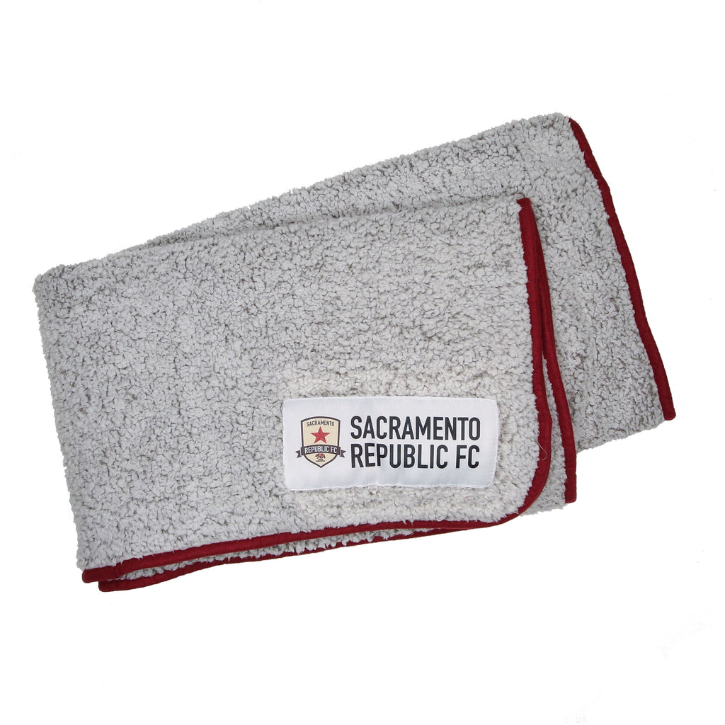 SRFC Frosty Fleece Blanket