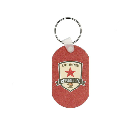SRFC Metal Key Ring