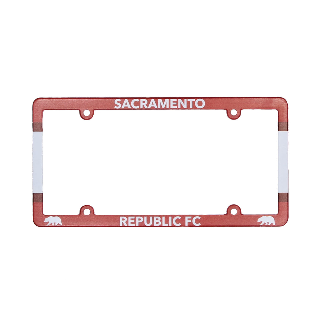 Republic FC Plastic License Plate Frame