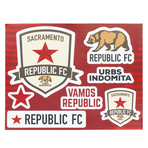 SRFC Sticker Sheet