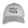 Seasonal Washed Cap in Pewter Gray by Nike