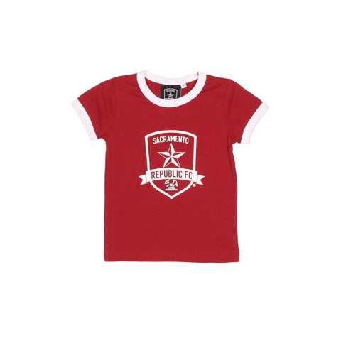 Toddler Crest Tee by SDS