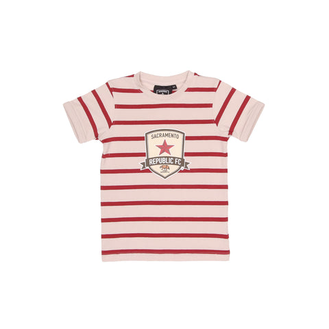 Toddler Striped Crest Tee by SDS