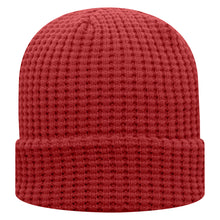 Load image into Gallery viewer, Waffle Fleece Lined Beanie