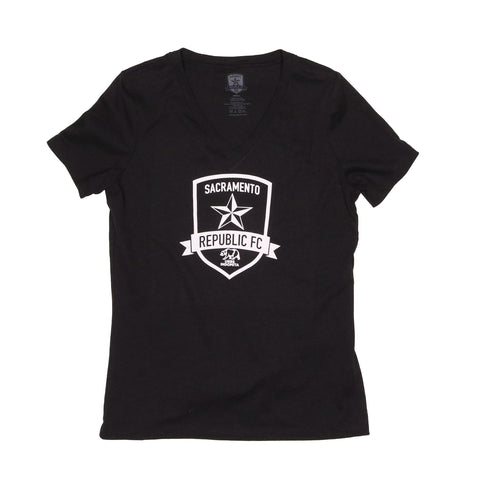Women's Classic Black Heather Tee
