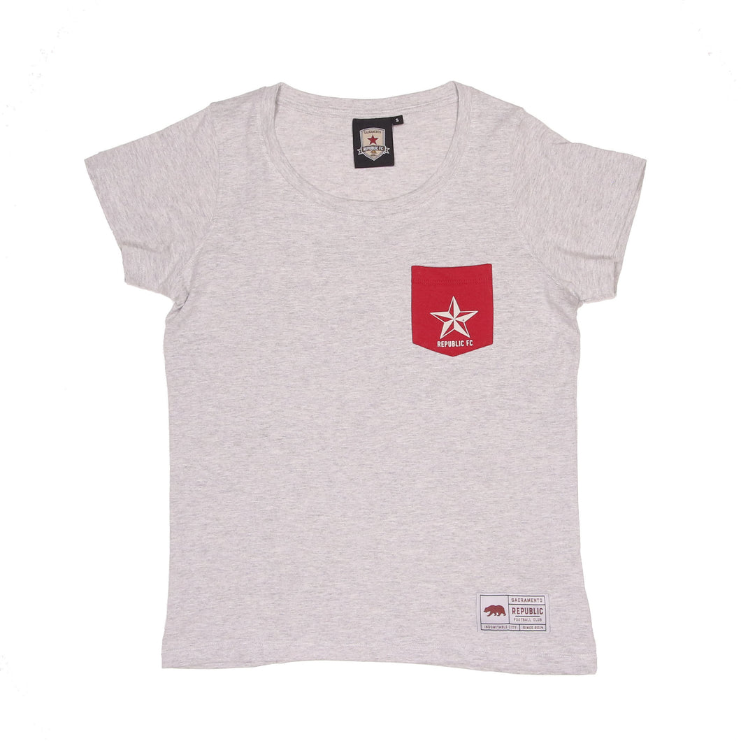 Womens Loose Fit Pocket Tee by SDS