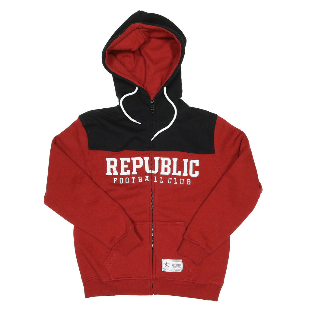Youth Block Zip Hoodie by SDS