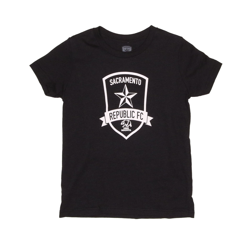Youth Classic Black Heather Tee