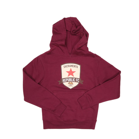 Youth Classic Maroon Hoodie