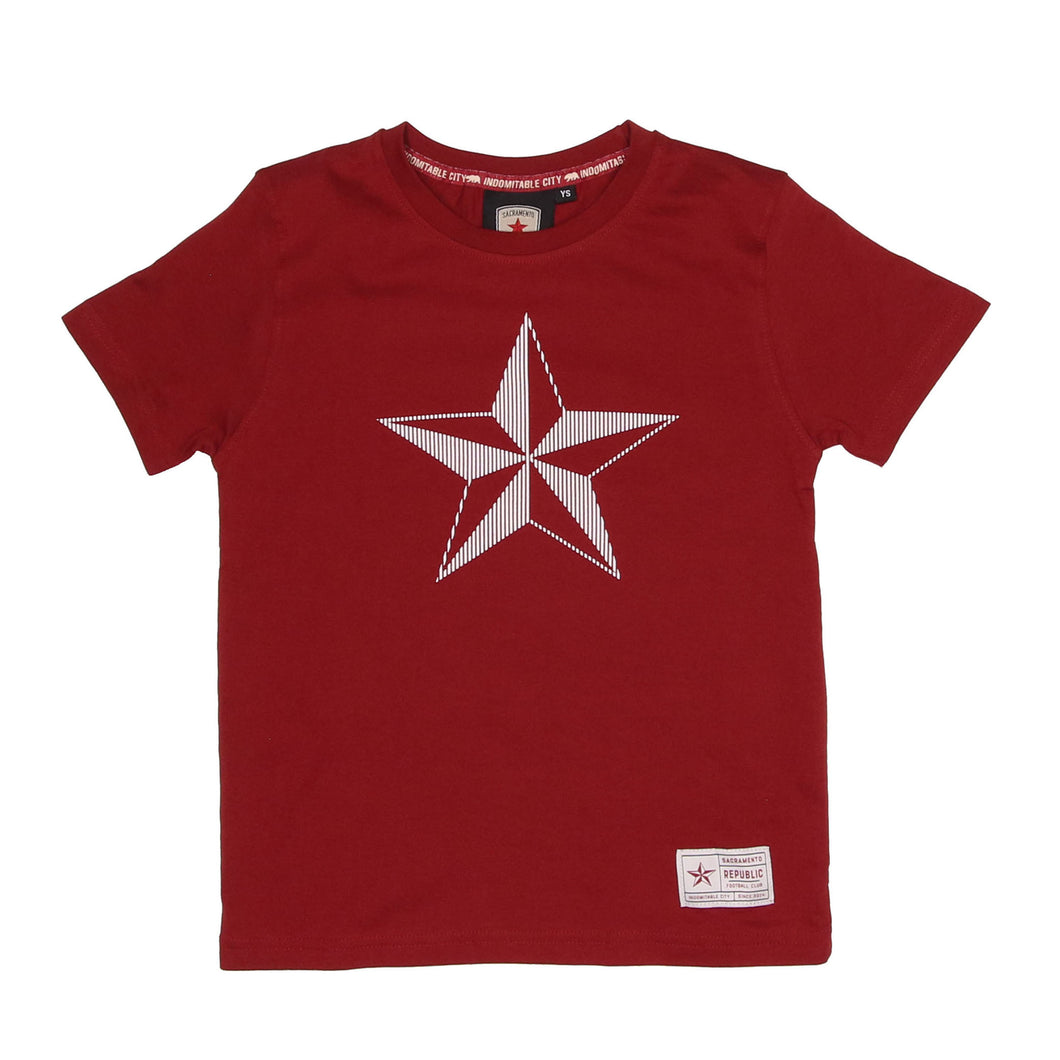 Kids High Density Star Tee