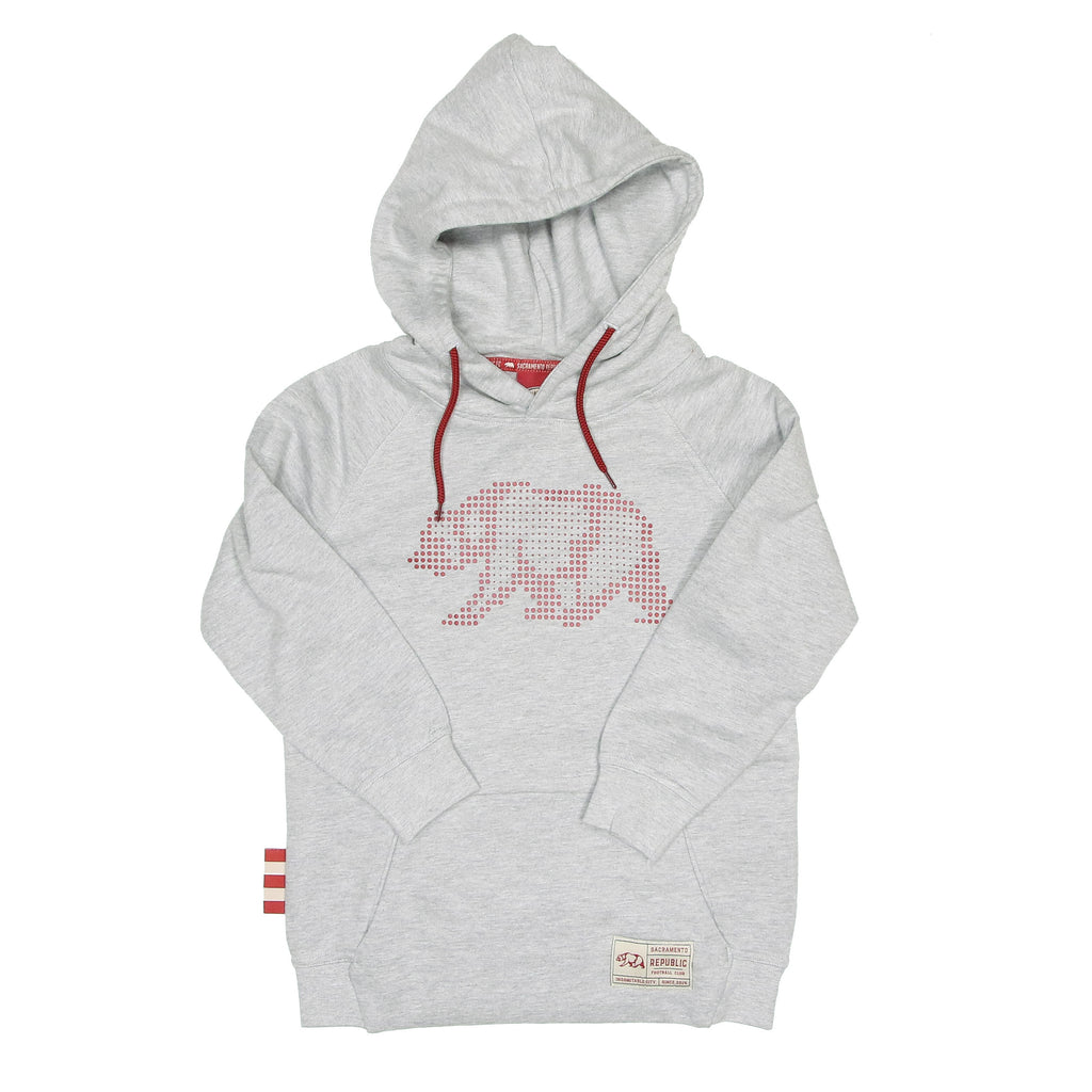 Youth Pixel Bear Leisure Hoodie SDS