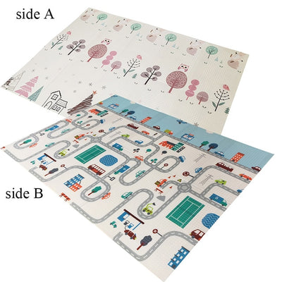 Foldable Baby Road Pad Foam Play Mat
