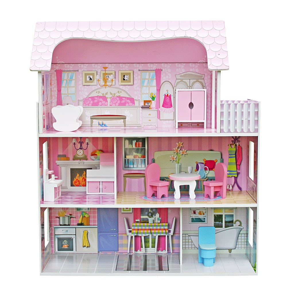 Wooden Furniture Dollhouse