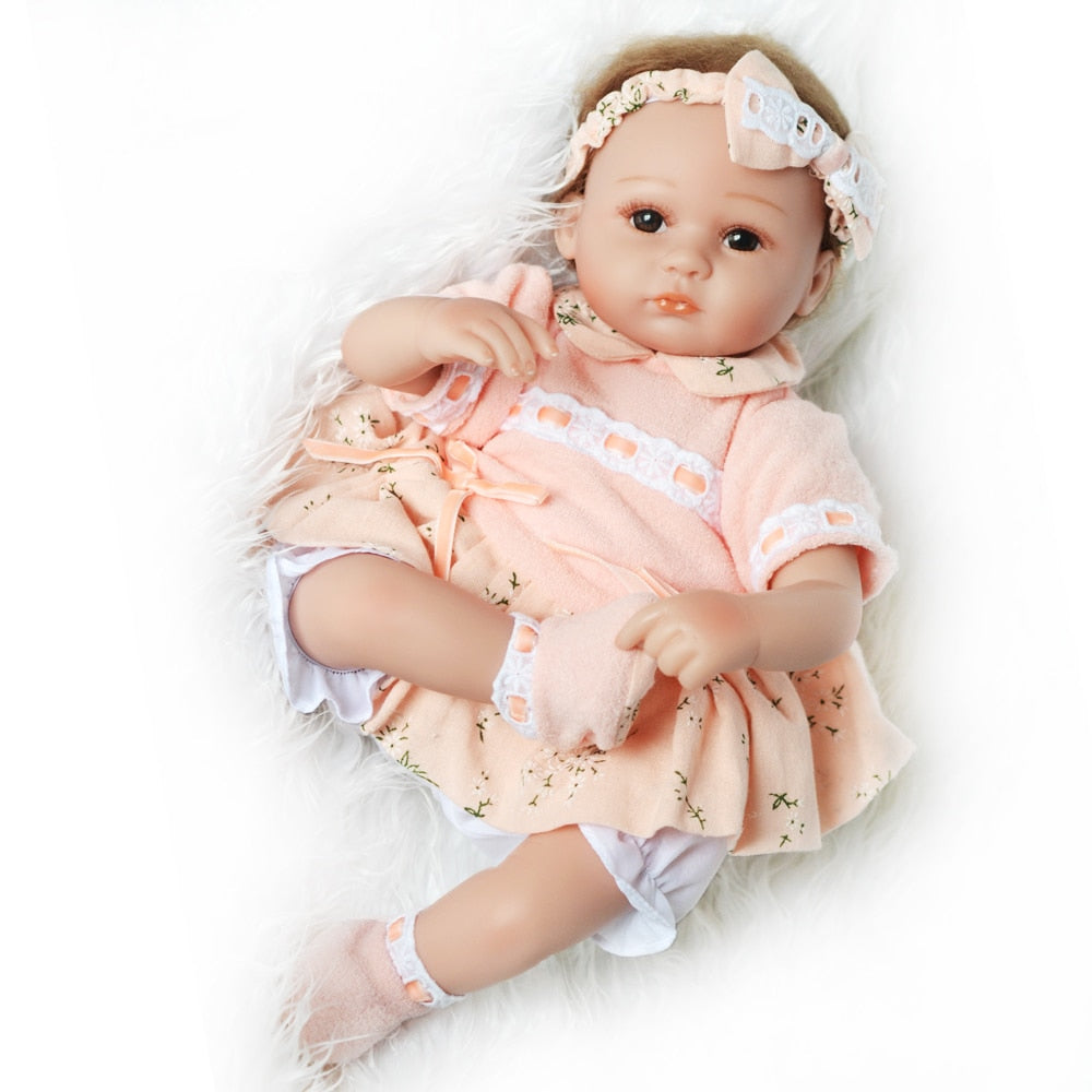 Lifelike Silicon Body Reborn Baby Doll