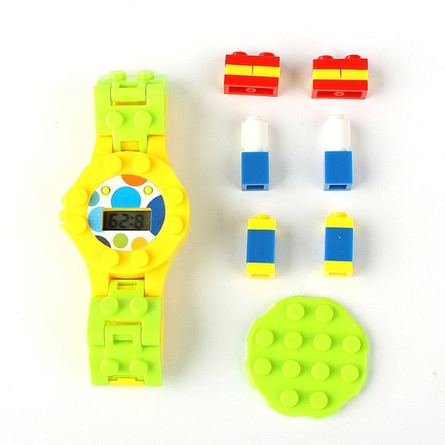 Building Blocks Digital Watch Series