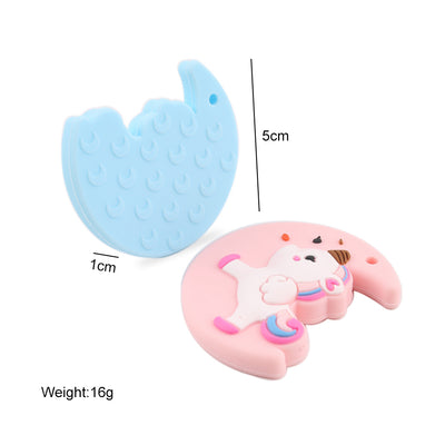 Premium Baby Food Grade Various Silicone Animal Teether