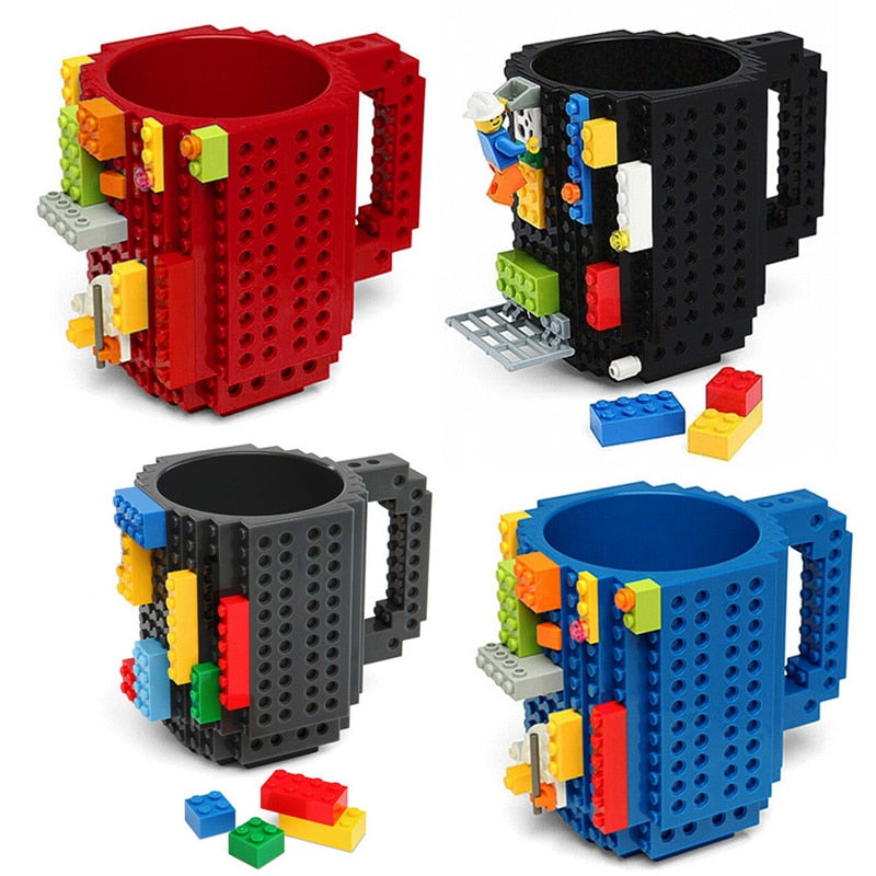 Kid's DIY Building Blocks Cup