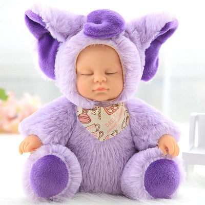 Animal Sleeping Silicon Face Dolls