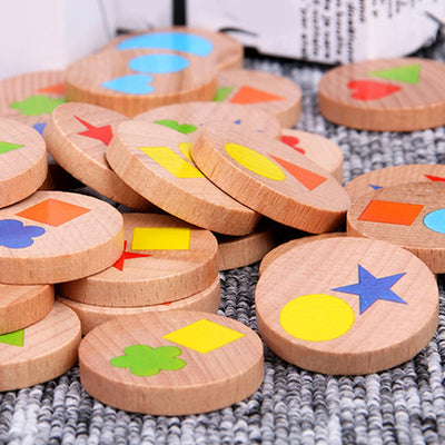Montessori Education Detective Puzzle Board Game