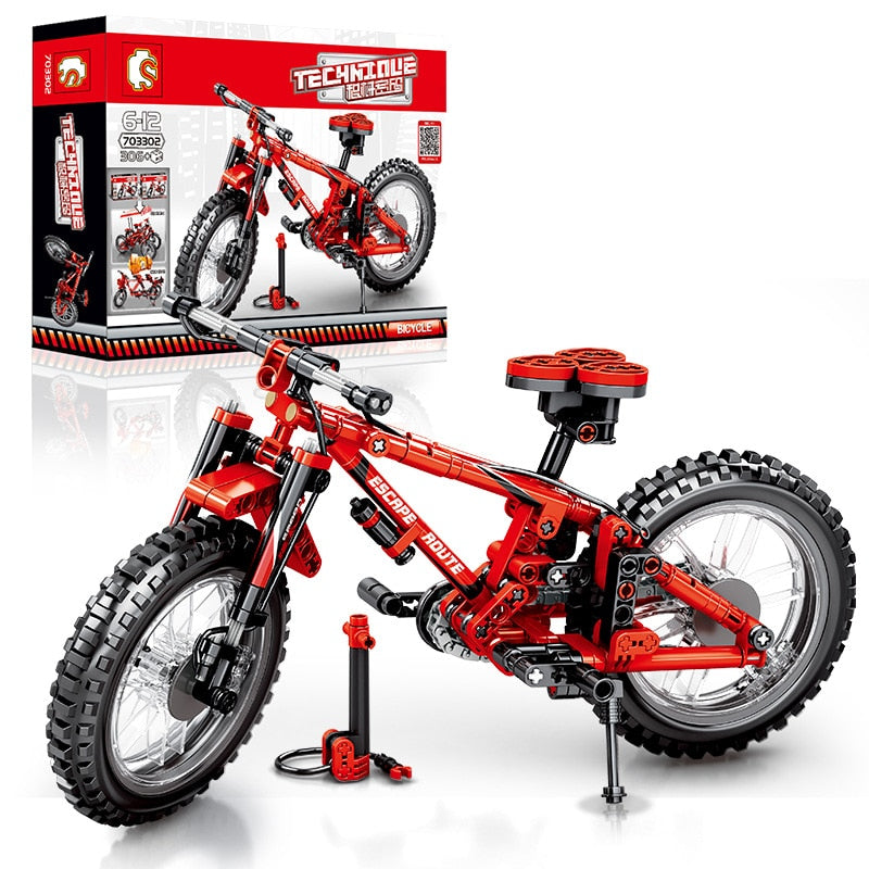 Off-Road Mountain Bike Building Blocks