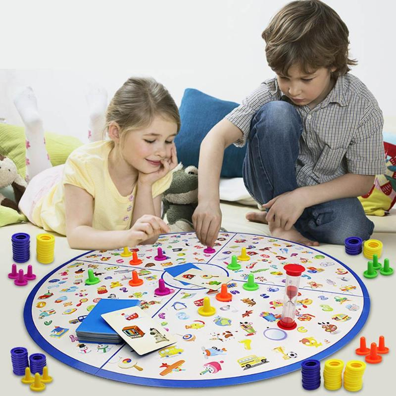 Montessori Puzzle Detective Education Board Game