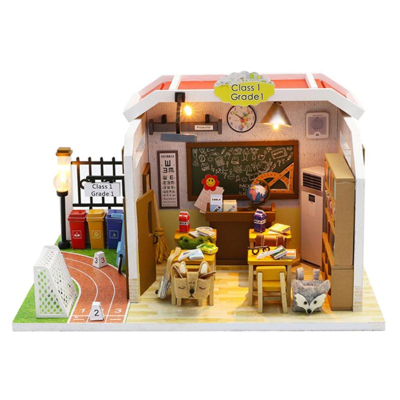 DIY Doll House Handmade Classroom
