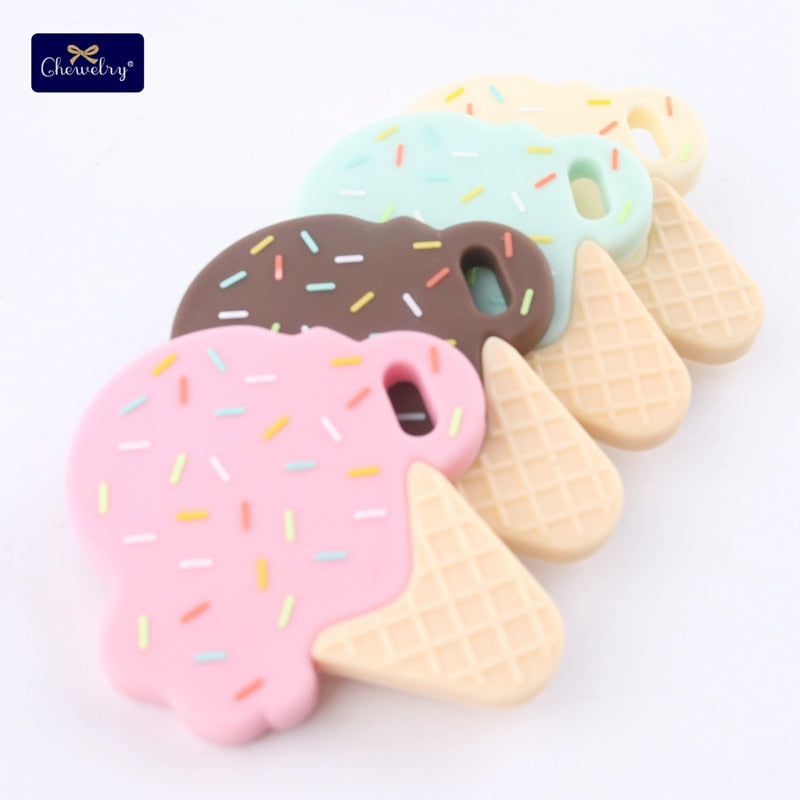Premium Baby Food Grade Silicone Ice Cream Teether