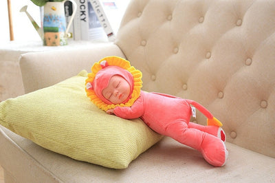 Musical Sleeping Silicon Face Dolls