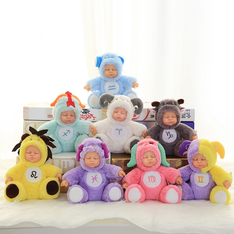 12 Constellation Sleeping Silicon Reborn Dolls