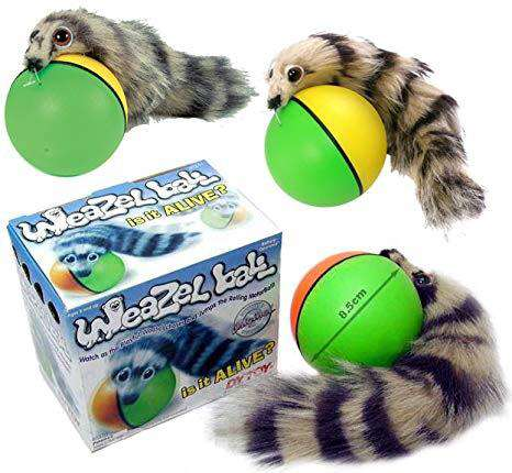 Interactive Weazel Ball - Pawsky Pets