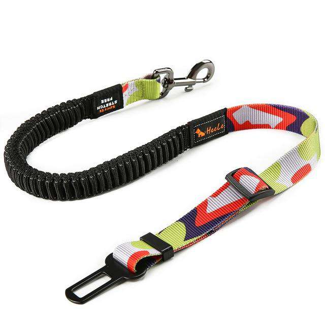 Anti-Shock Bungee Dog Seat Belt - Pawsky Pets