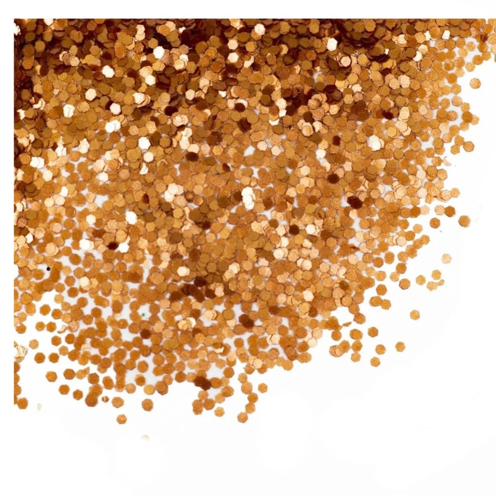 paillettes 100% biodegradables bronze Glitty Paris