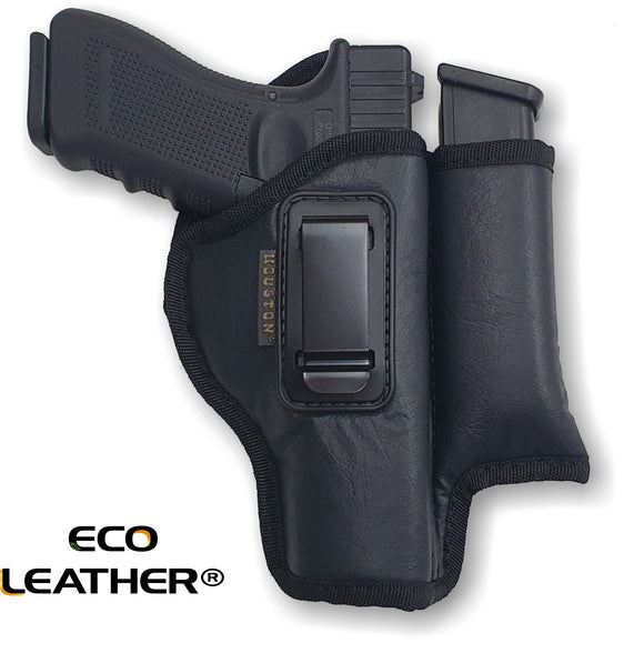 ECO - LEATHER Holster IWB with Mag Holder