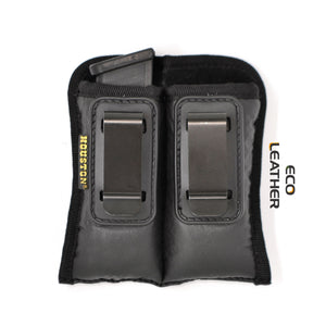 ECO - LEATHER Magazine Holders - Double