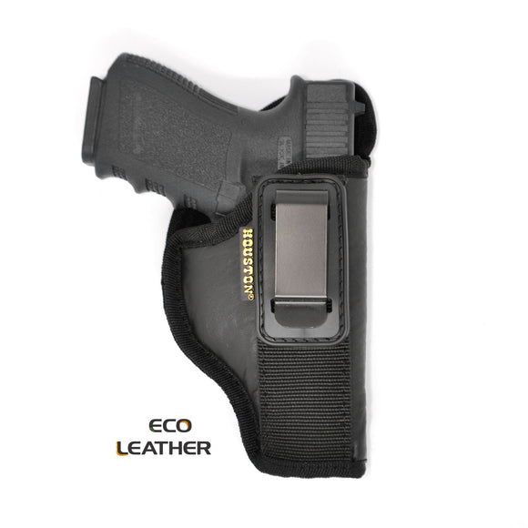 ECO - LEATHER Tuckable Holster IWB with metal clip