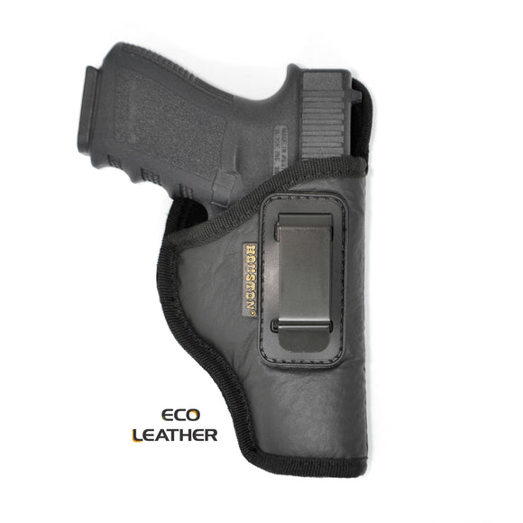 ECO - LEATHER Holster IWB with metal clip