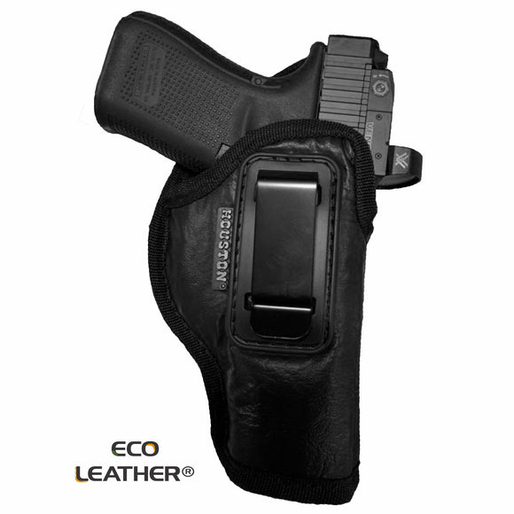 Optic Cut ECO - LEATHER Holster IWB with metal clip