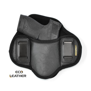 ECO-LEATHER- IWH Dual Clip Softy Ambidextrous Holster